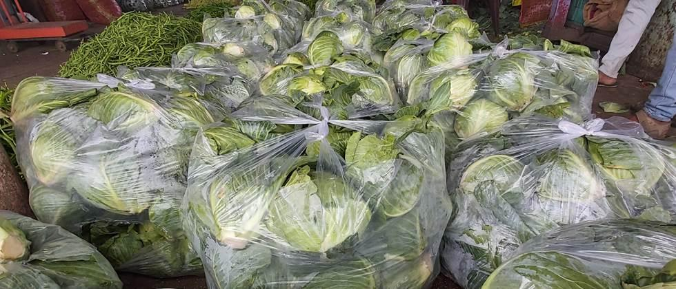 Increase in vegetable imports due to exposure to rains