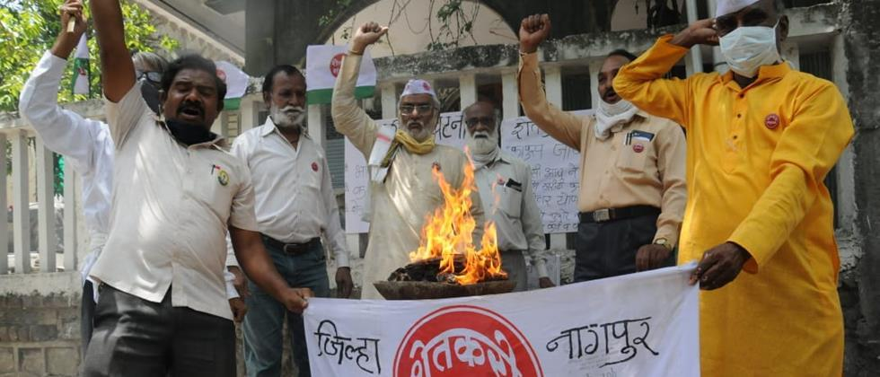 Response to cotton burning movement in Vidarbha