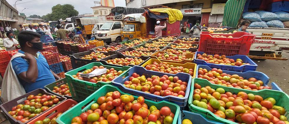 Balanced supply of vegetables in Pune; Rate fixed