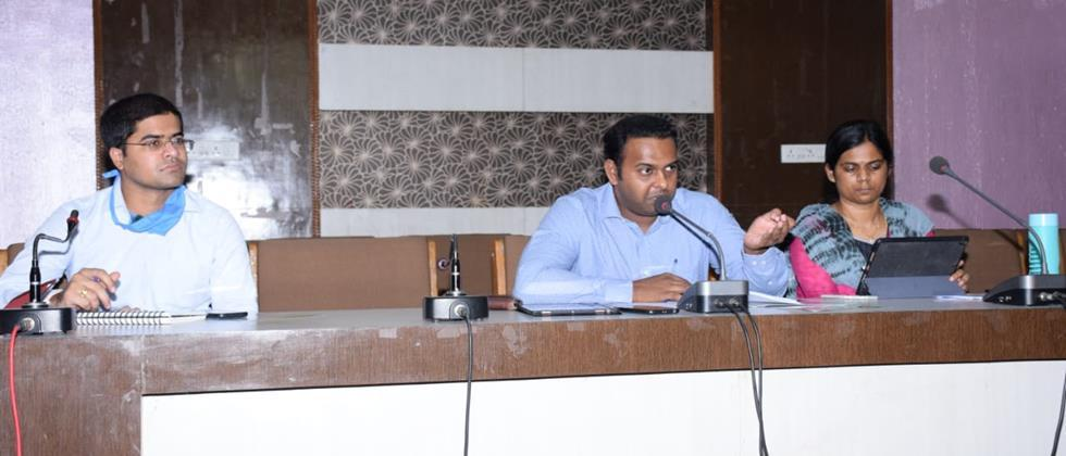 Make people aware of the danger of floods: Collector Pradip Chandran