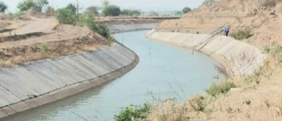 The water from the Takari scheme reached the mudflats