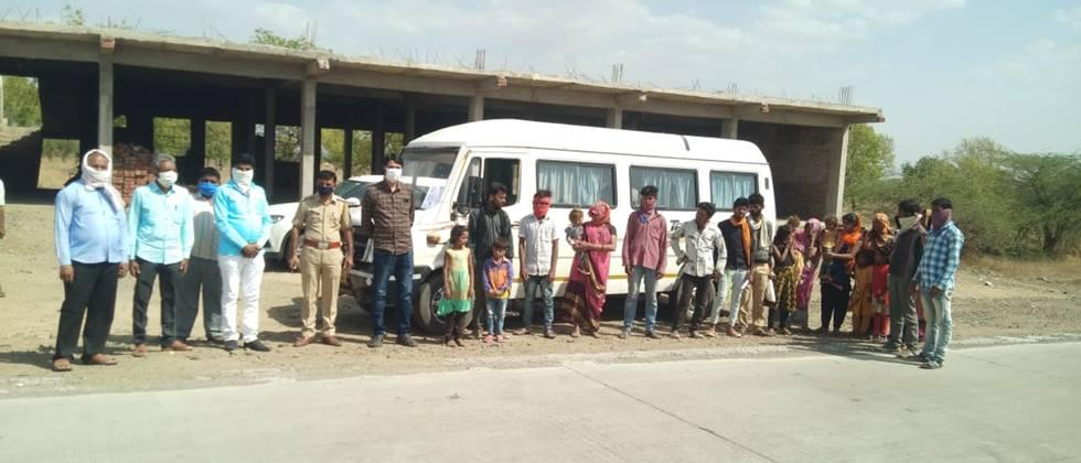 Nanded stuck due to lockout 38 laborers leave Pune