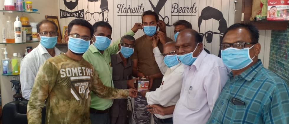 15 thousand masks made by Women groups in Nagpur