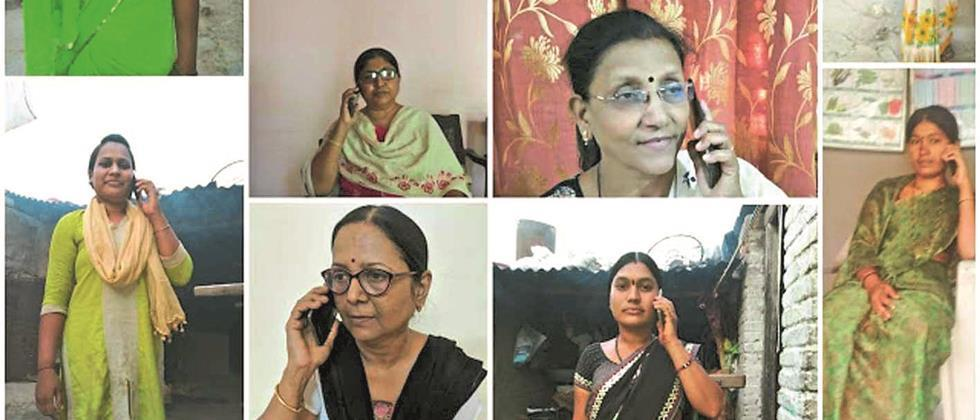 Expert guidance to women farmers through audio conferencing