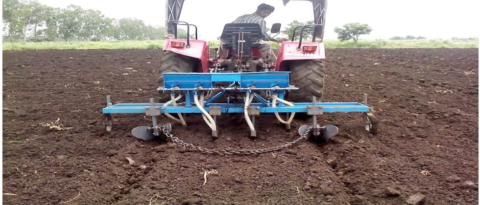 sowing by broad bed furrow method