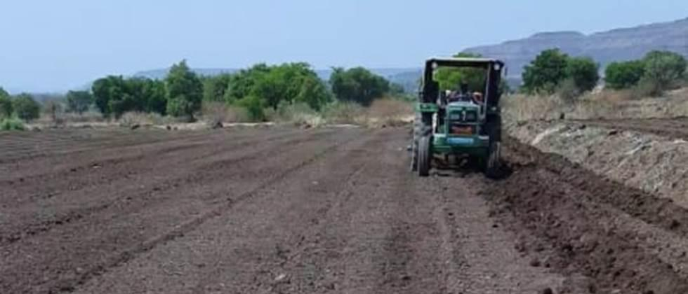 Accelerated pre-planting works in Satara