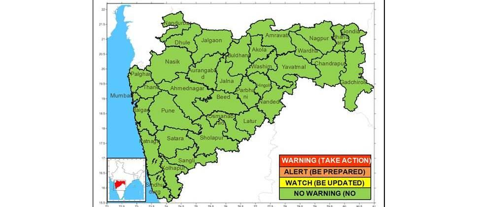 Dry weather forecast in the state