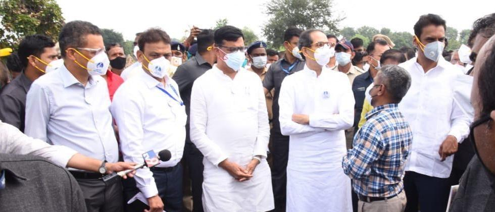 Government with the support of farmers: Chief Minister Thackeray