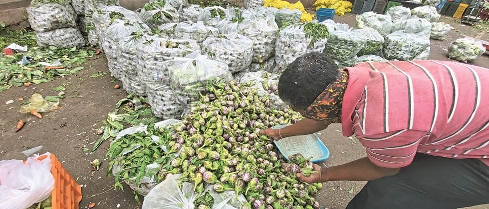 Increase in prices of leafy vegetables in Pune