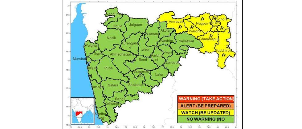 Rain-fed climate in the state