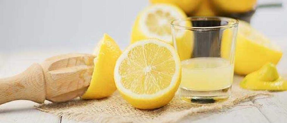 Processed foods from lemon