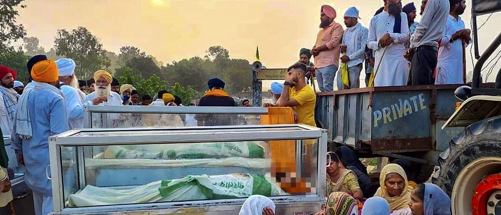 Outrage across the country over the incident of crushing farmers