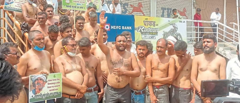 Farmers 'half-naked' for crop insurance refunds