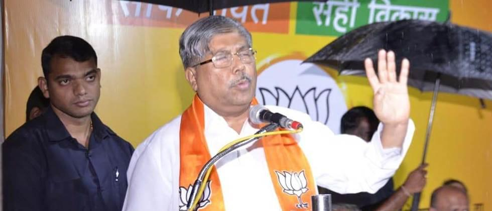 Chandrakant Patil re-elected as BJP state president