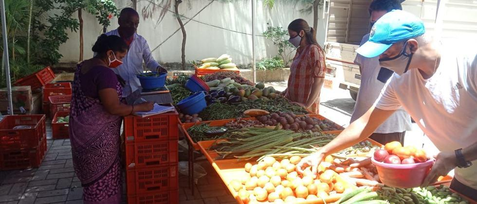 vegetable sale