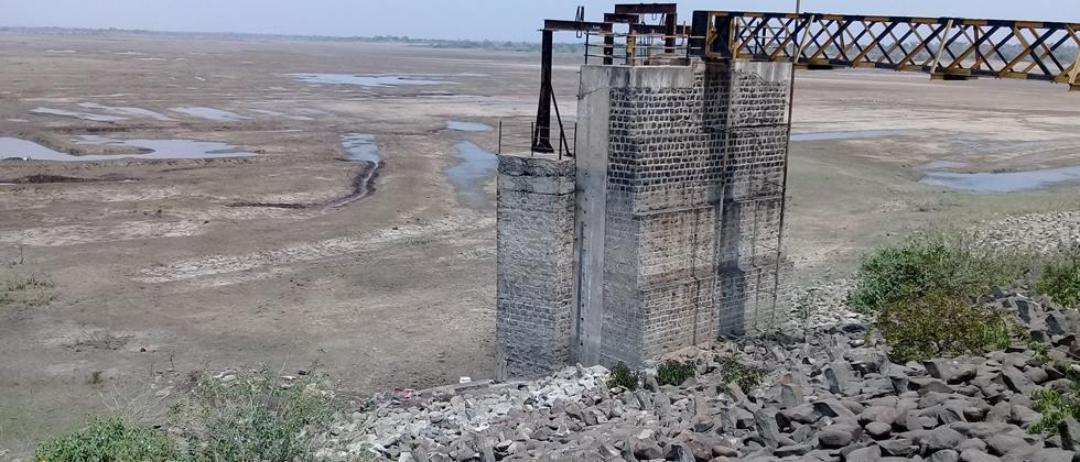 For deficient water in four medium projects