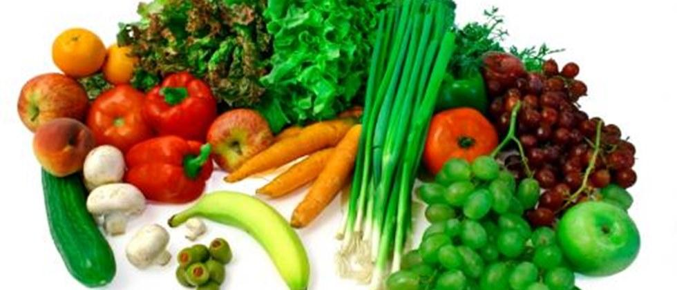 Wash fruits and vegetables thoroughly.