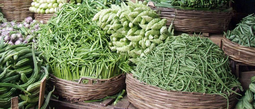 Vegetable sales will be from grocery stores