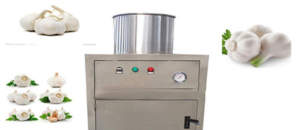 garlic pilling machine