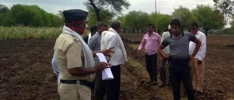 Police cleared three hundred six disputes at the farms
