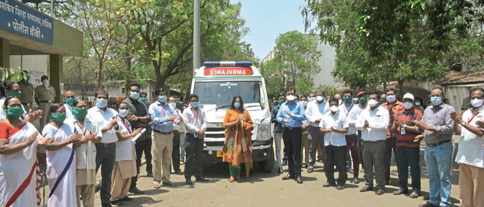 Discharge to first patient of 'corona in Nashik district