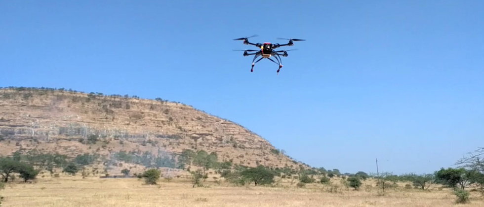 23 villages in North Solapur will be surveyed by drone