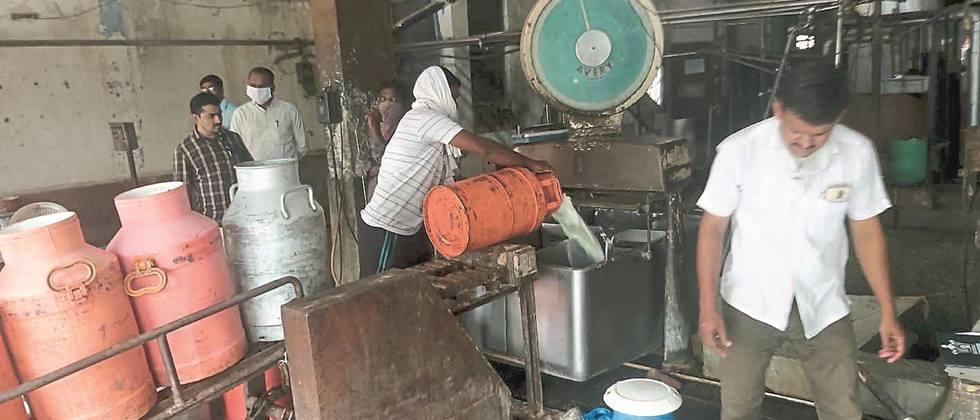 Crisis in front of milk producers due to rate cut in Parbhani