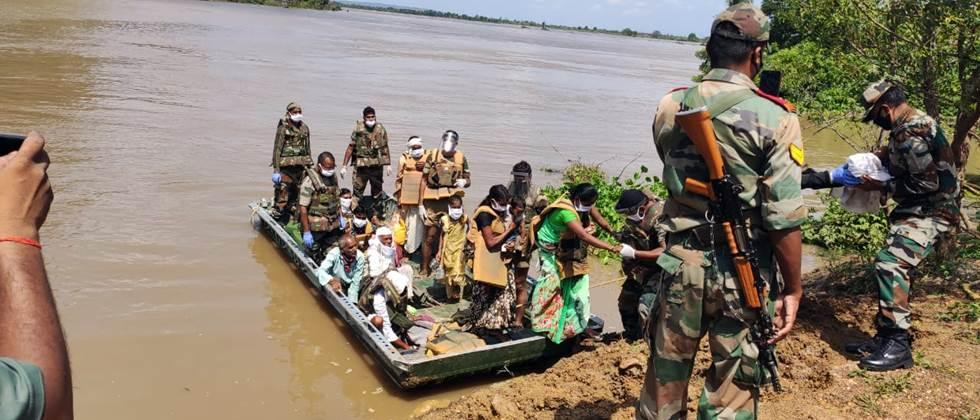 flood situation continue in east vidarbha