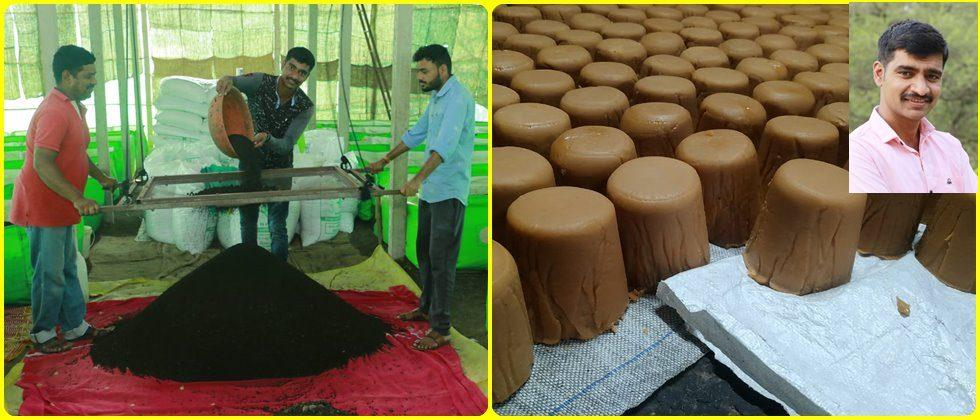 Production of organic spice jaggery and vermicompost