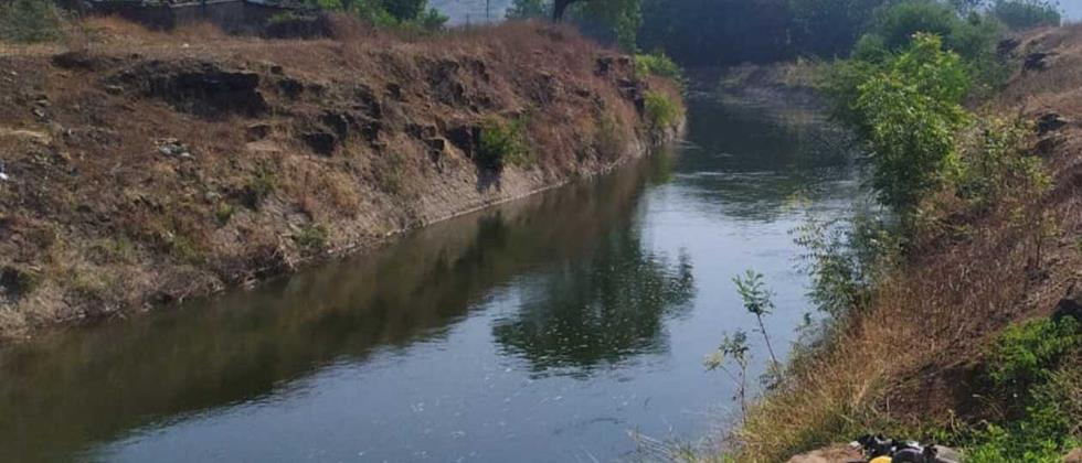 Through the canal of Siddheshwar Dam Released rotation for summer crops