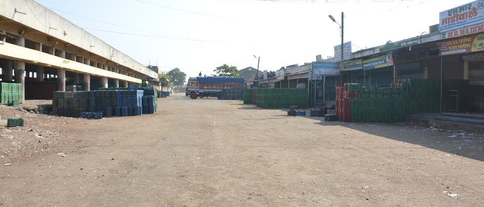 Auction closed in Solapur Market Committee