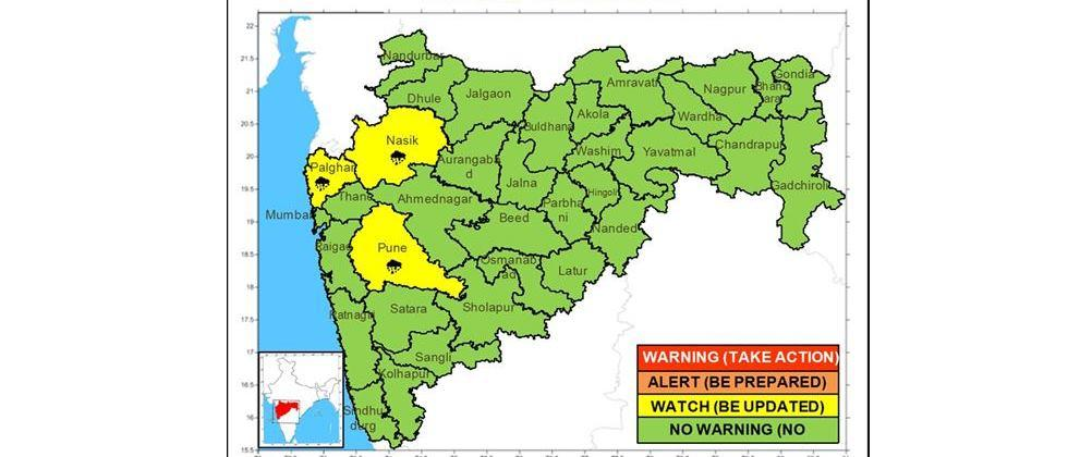 Rains likely in the state from tomorrow