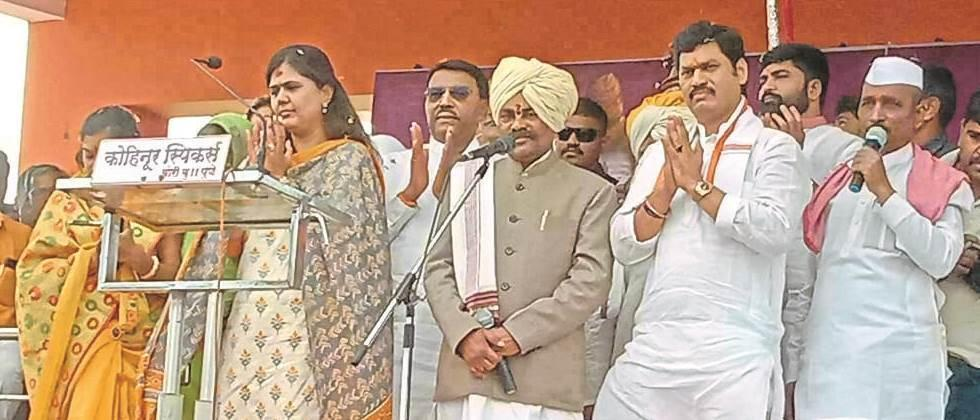 Prioritizing socialization with water, agricultural development: Pankaja Munde