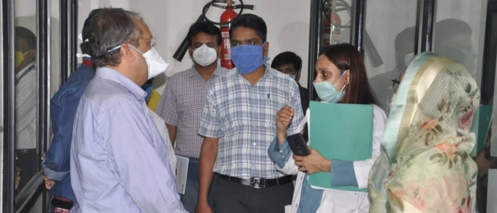 Work on the 'Corona' Investigation Laboratory in Nashik in the final phase