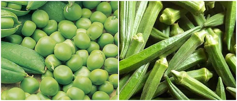 Peas in the city, improvement in the price of okra; Onion market stable