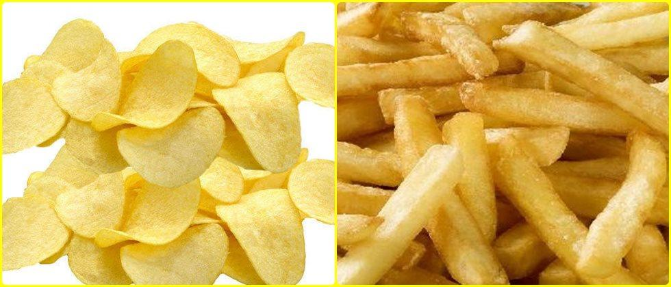 value added products of potato