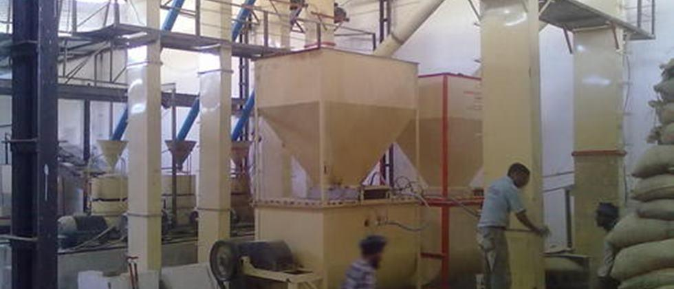 animal feed processing unit