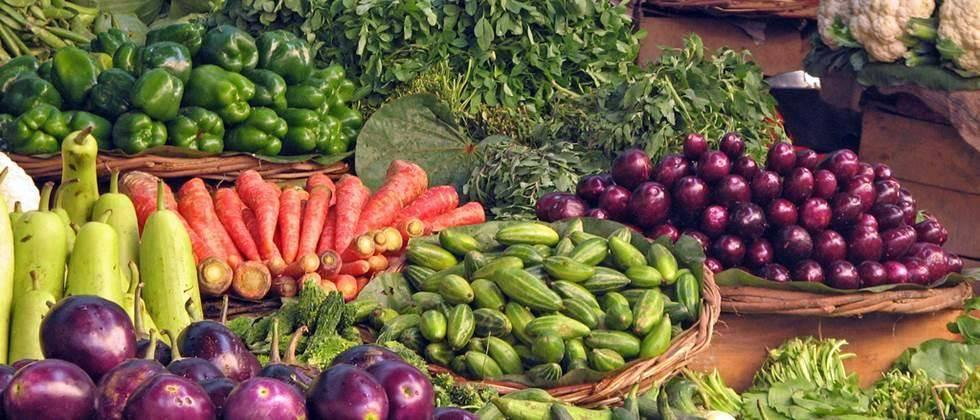vegetables available at doorstep