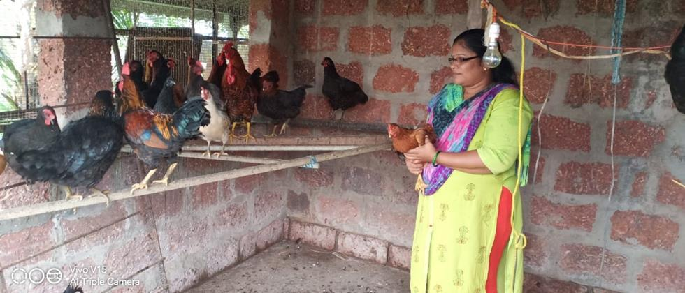 Pooja Zore poultry business