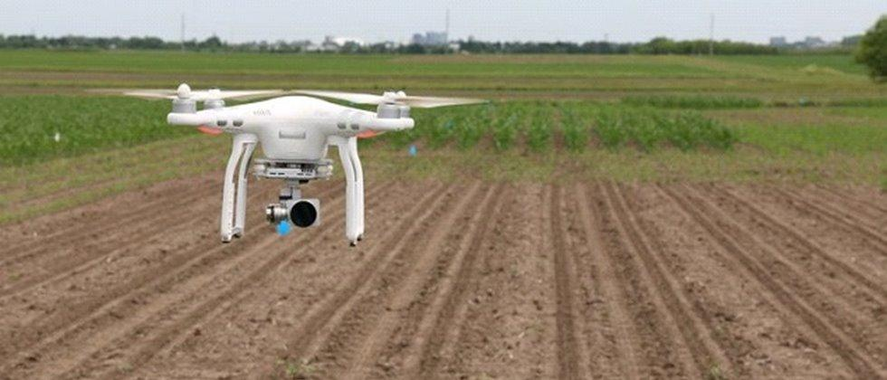 Drone technology for agricultural planning