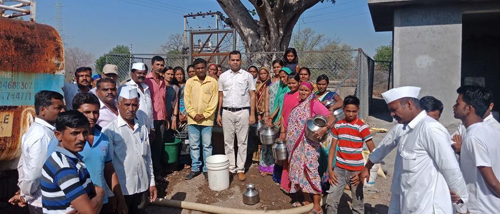 water supply in rural area
