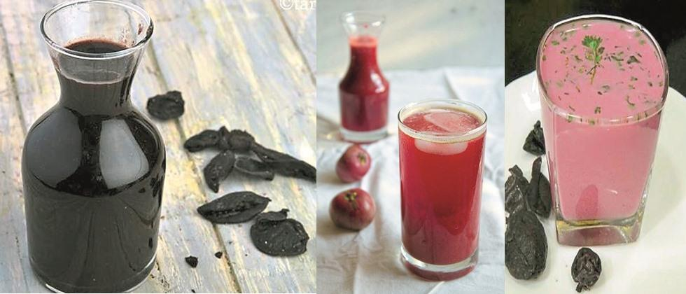 Processed foods products of kokum