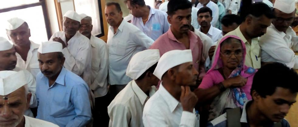 Two lakh farmers waiting for crop loan in Nanded district