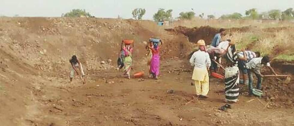 Work for over 8,000 laborers in Aurangabad district as per demand