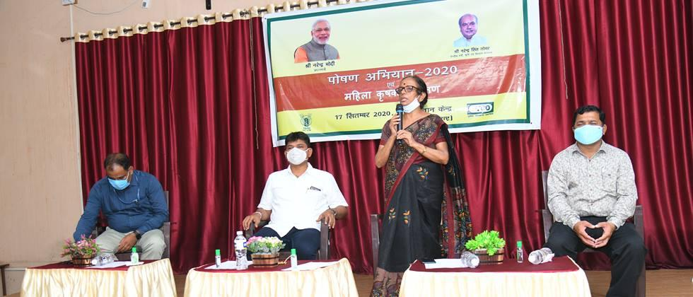 Increase consumption of fruits and vegetables in the diet: Dr. Sharma