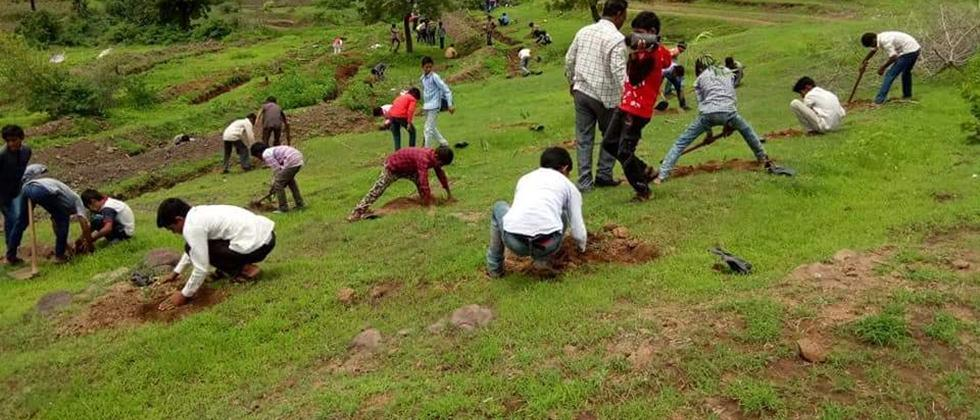 soil and water conservation work