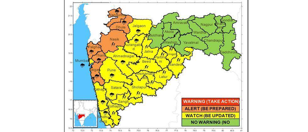 Storm warning in the state