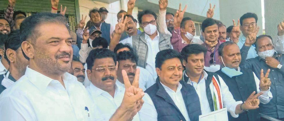 Congress breaks BJP's stronghold after 58 years