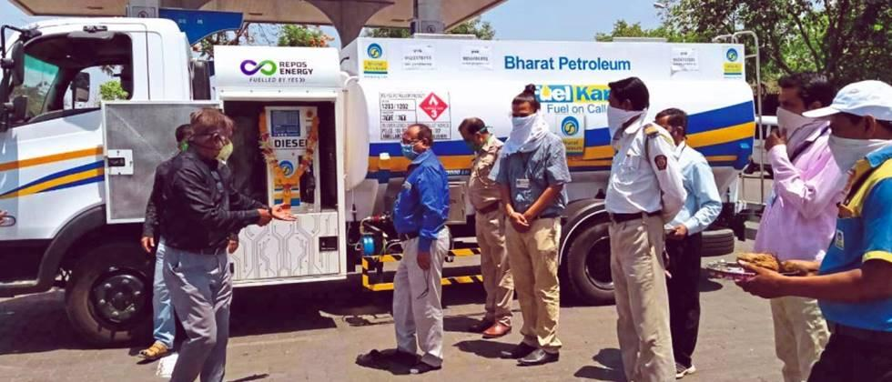 farmers get diesel at doorstep