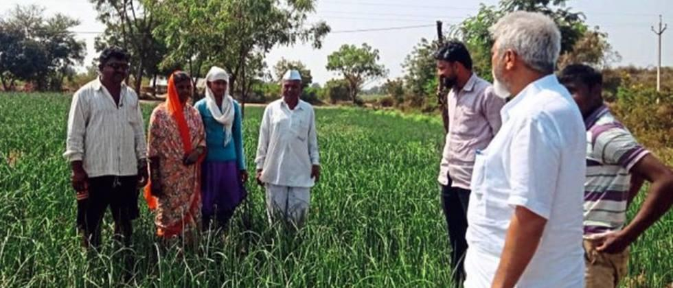 Agriculture minister Communicated with farmers